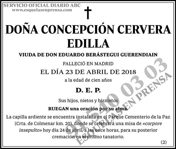 Concepción Cervera Edilla